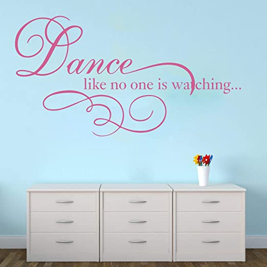 My Kitchen Is For Dancing Inspirational Quote Music Wall Car Truck Vinyl Decal