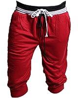 Malloom® 1pc Pantalon De Survêtement Hommes Sport Short Harem Danse Ample Pantalon De Jogging De Formation