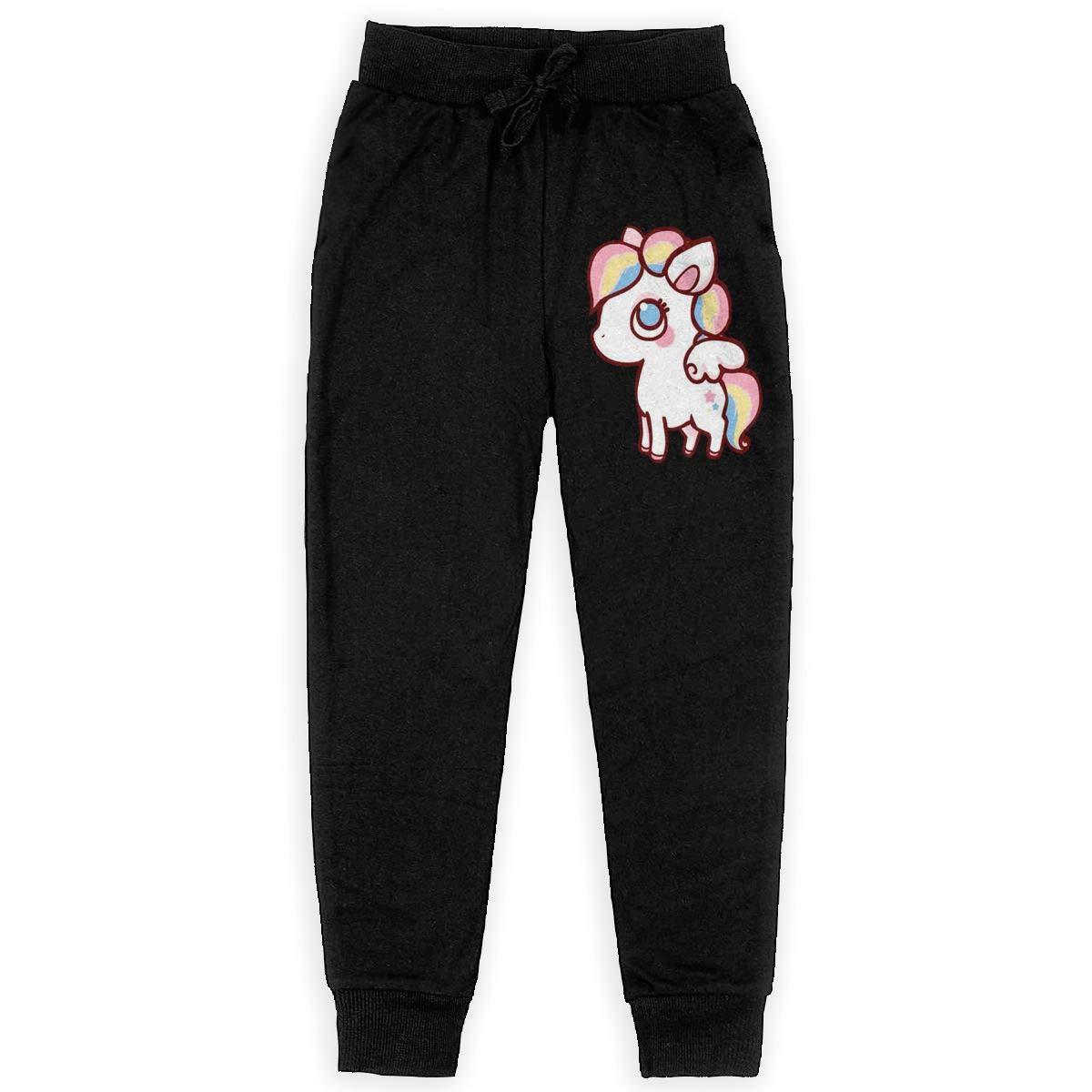 Unicorn Boys Athletic Smart Fleece Pant Youth Soft and Cozy Sweatpants