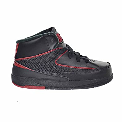 on sale f3681 81812 Jordan 2 Retro BT Toddler's Shoes Black/Varsity Red 395720-002