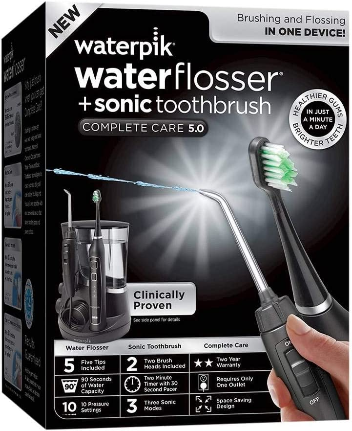 Waterpik Complete Care 5.0 Toothbrush & Water Flosser black 61MKlGsoKQLSL1024_