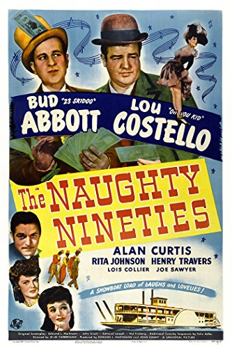 The Naughty Nineties Movie Poster or Canvas