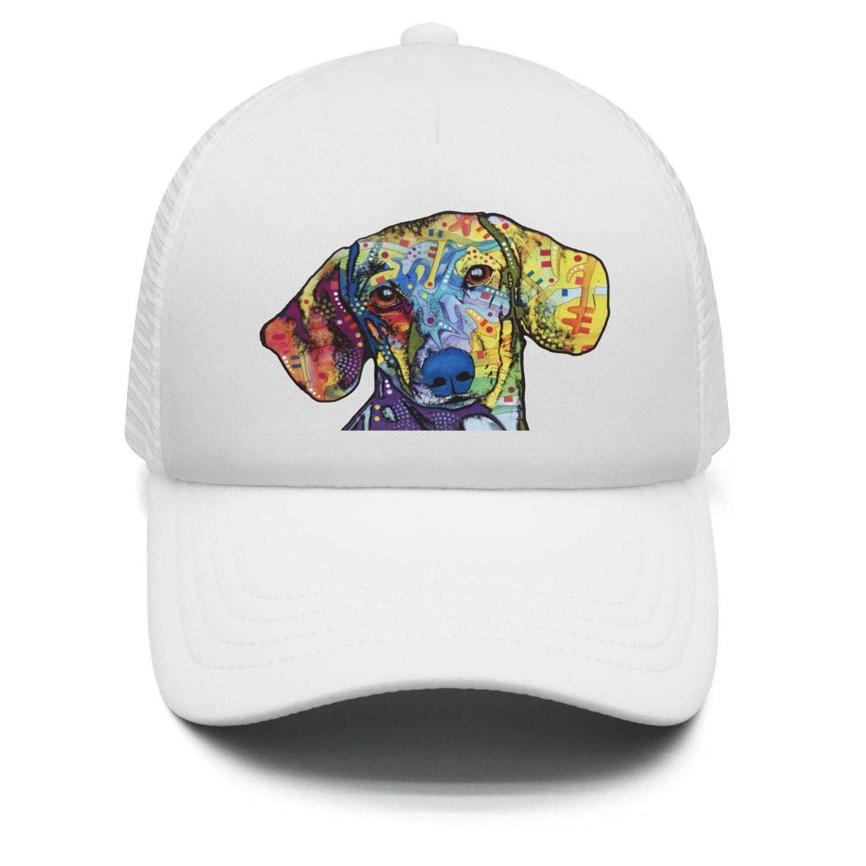 1c449fe197bce Amazon.com  Teenager Aniaml Colorful Dog Head Baseball Cap Snapback Hats Sport  Cap  Clothing