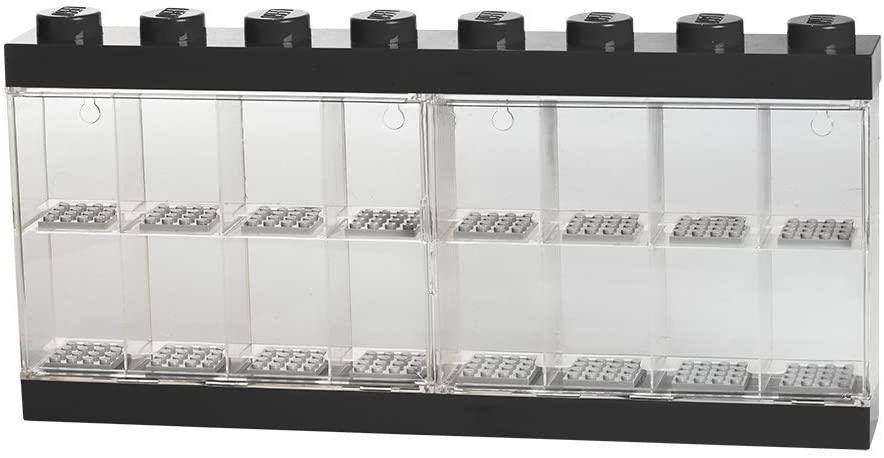 LEGO Minifigure Display Case Large [Black]
