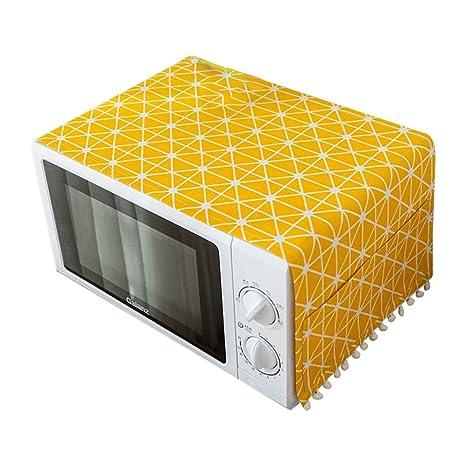 Funda protectora universal de algodón y lino para microondas ...