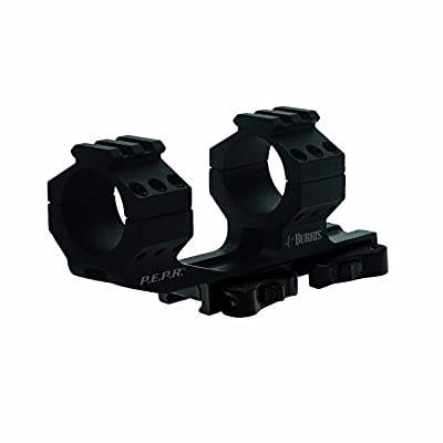 Burris 410344 AR-PEPR 1-Inch Mount Quick Detach with Picatinny Tops (Black)