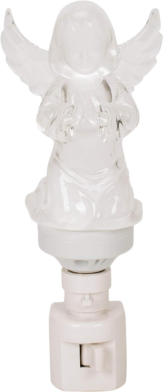 Icy Crystal Praying Angel LED Christmas holiday decor Roman Lights Roman 165138
