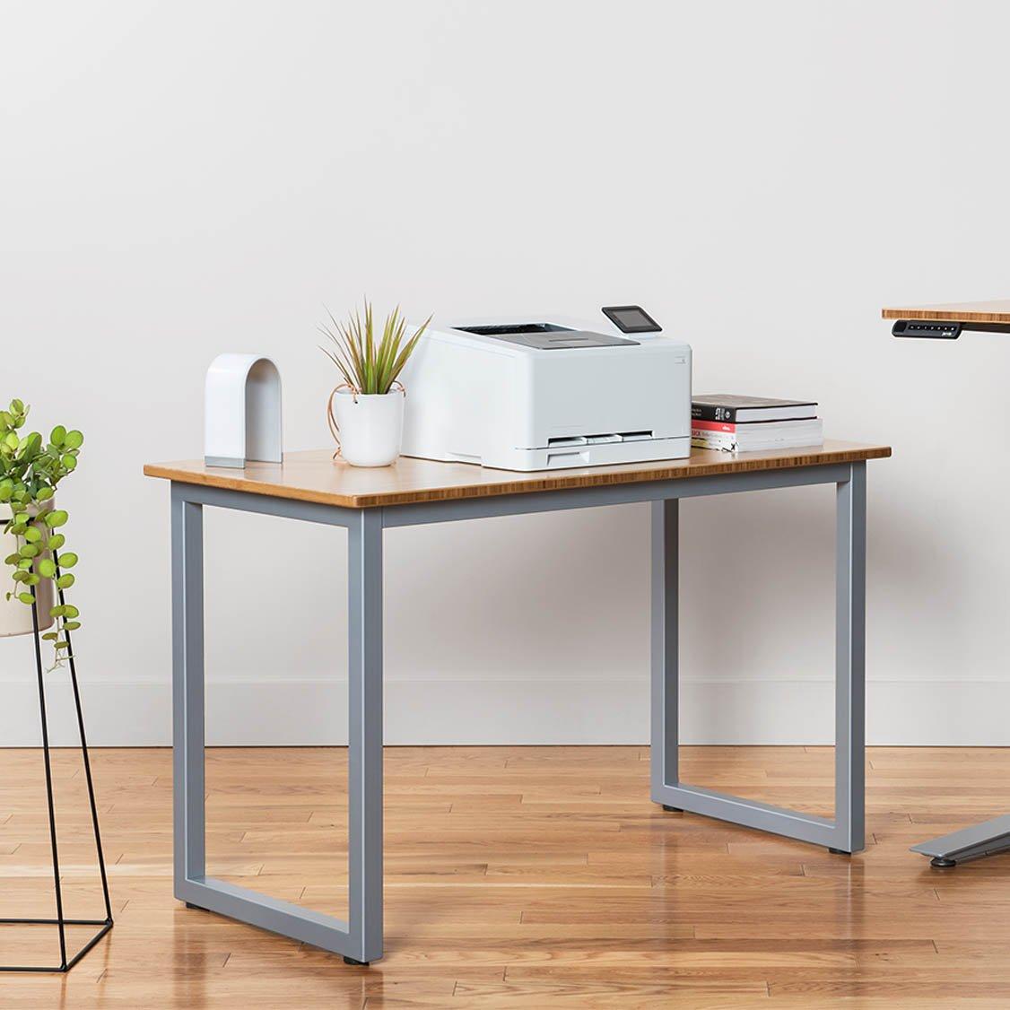 Amazon.com: Mesa auxiliar de bambú – pequeño, 48