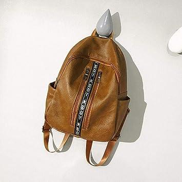 yjydada letras mochila mujeres Vintage niñas escuela bolsas ...