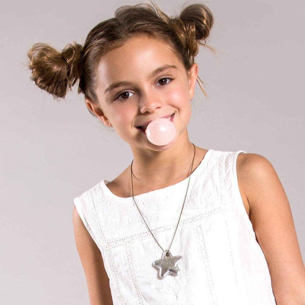 Peppercorn Kids Girls Twinkle Star Necklace
