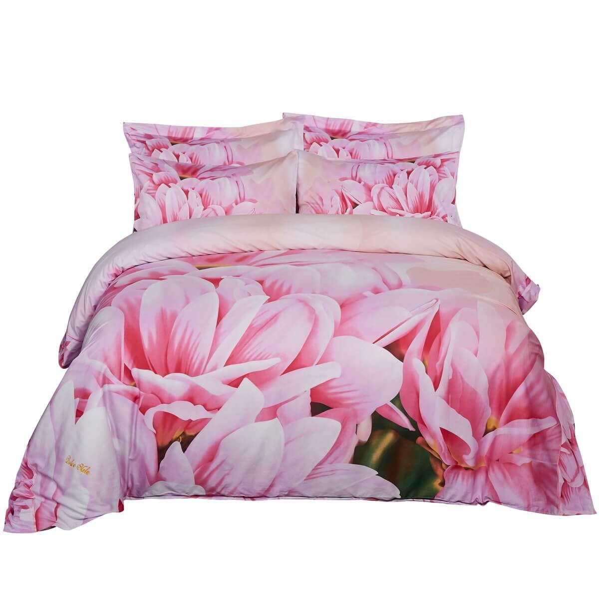 Dolce Mela DM701K Duvet Cover Set King Pink