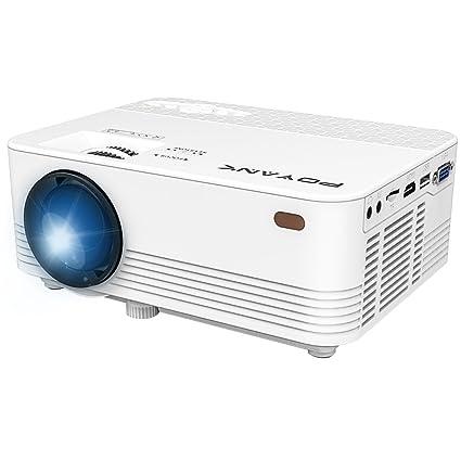 POYANK proyector, Mini LCD Beamer, Videobeamer apoya 1080P ...