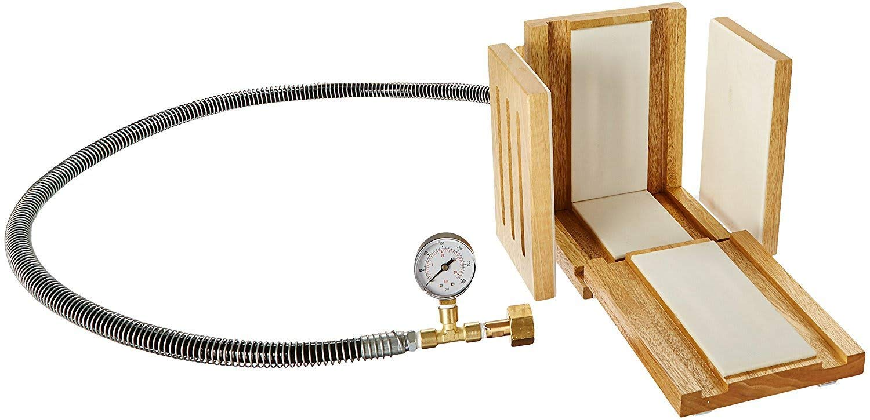 Scilogex 300002 Dilvac Dry-Ice Maker, c/w Pressure Hose and Pressure Gauge by Scilogex