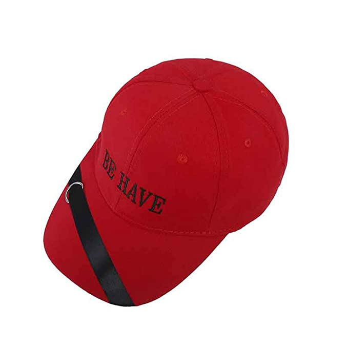 2019 Korean Spring Letter BE Have Baseball Cap for Men Women Ribbon  Snapback Purple dad hat Summer Sun Hat at Amazon Women s Clothing store  e1301e0a4