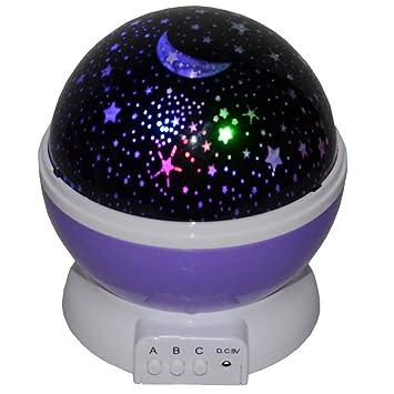 Amazon.com: Lámpara de proyector de lunes, estrellas ...