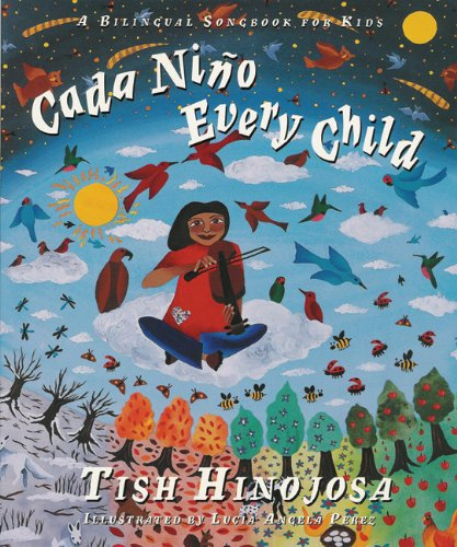 Cada Niño / Every Child: A Bilingual Songbook for Kids  (English and Spanish Edition)