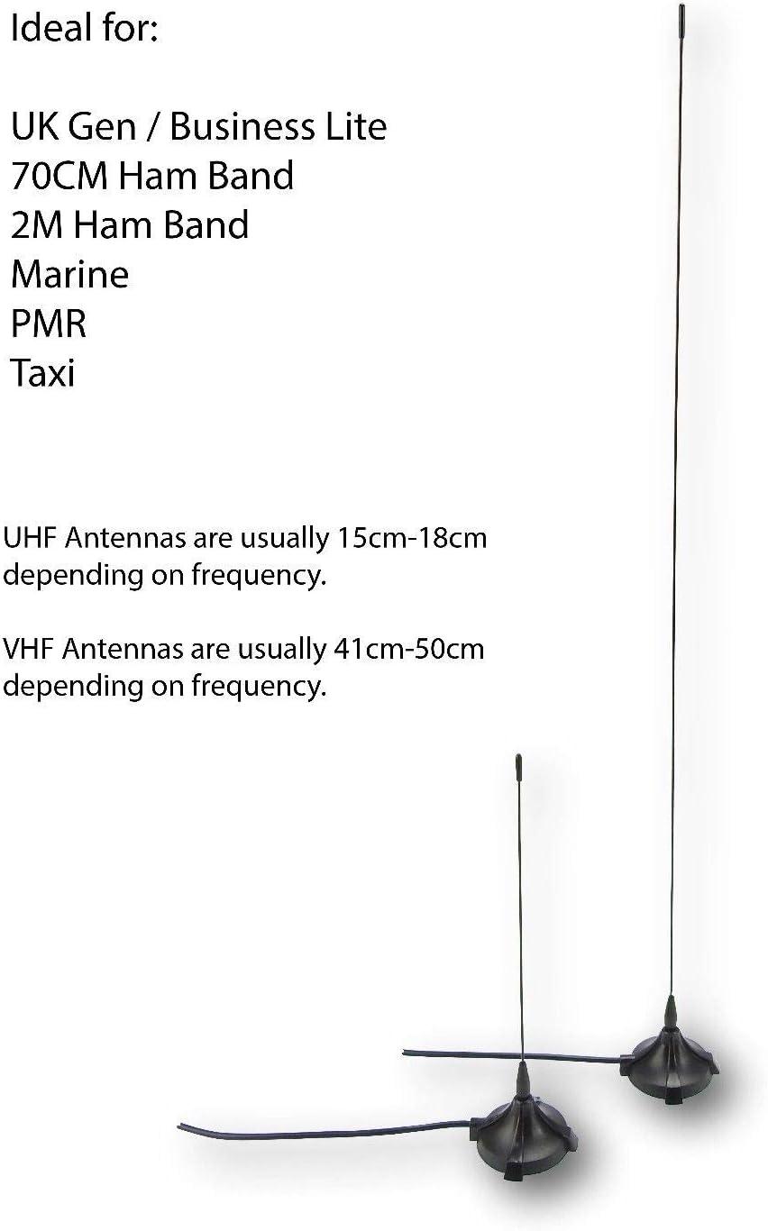 Kenwood TK7162 TK7180 - Antena de radio móvil VHF para taxi ...