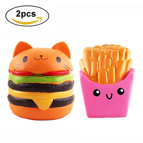 Emoji Face Pig Squeeze Watermelon Pillow Loaf Cake Bread Toy Milk Bottle Charms French Baguettes Kawaii Squishy Rising Jumbo Toy Wide Selection; Mobile Phone Accessories