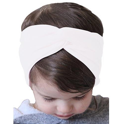 ARAUS 2piezas Diademas Madre-Niño Banda Bowknot Hairband Turbante