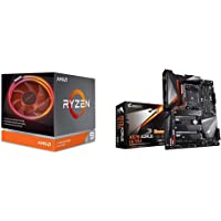 AMD Ryzen 9 3900X 12-core, 24-Thread Unlocked Desktop Processor with Wraith Prism LED Cooler with X570 AORUS Ultra…