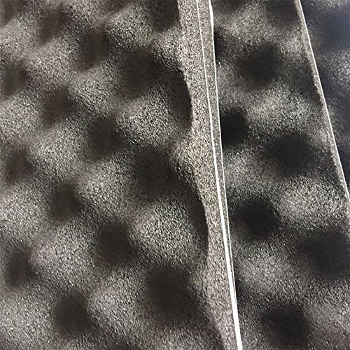 SOOMJ Studio Sound Acoustic Absorption Car Heatproof Foam Deadener 19.7''x31.5'' 4.3sqft,Sound Deadener Car