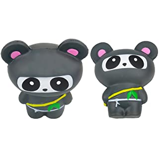 Giocattolo di decompressione Stress Reliever per Adulti Morbido Profumato a Lento Aumento(1pc, Panda) Rocita
