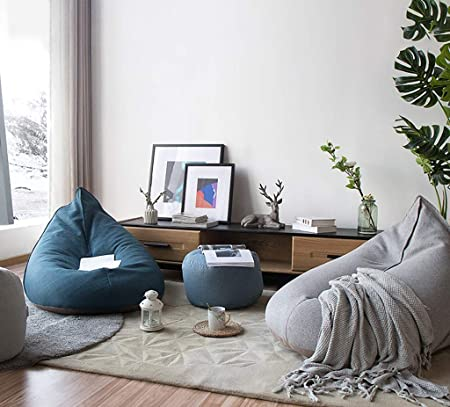 Amazon.com: MLX Bean Bag, Lazy Couch Tatami Living Room ...