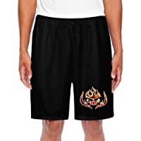 GLK300 Funny Anime Pictures Shorts For Mens Black