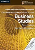 Cambridge International AS and a Level Business Studies Teacher's Resource CD-ROM, Peter Stimpson and Alastair Farquharson, 0521126932