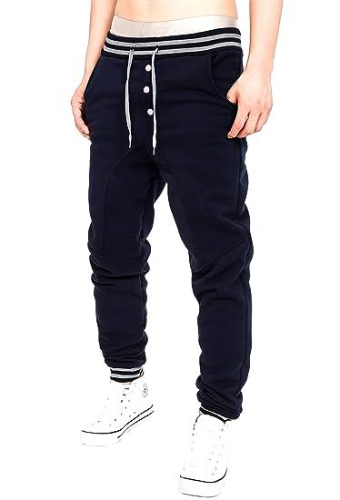 Minetom Hombre Pantalones Largos Sport Pants Fitness Moda Casual Cintura Elástica Deportivos Jogger Cargo Bolsillo Cordón Sweatpants AUHxdSaVRu