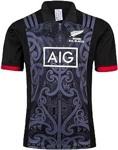 Equipo De Nueva Zelanda, Maori All Blacks, Hombres Camiseta de ...