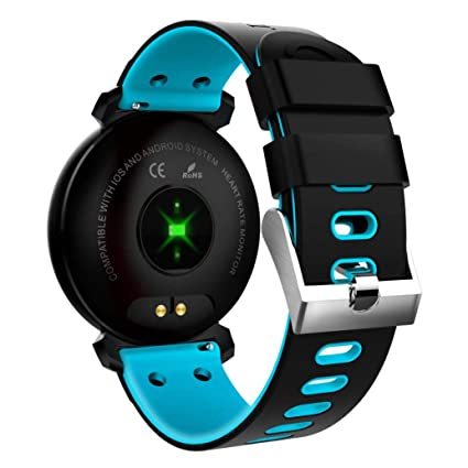 Amazon.com: Sinfu for iOS Android K2 Color Screen Heart Rate ...