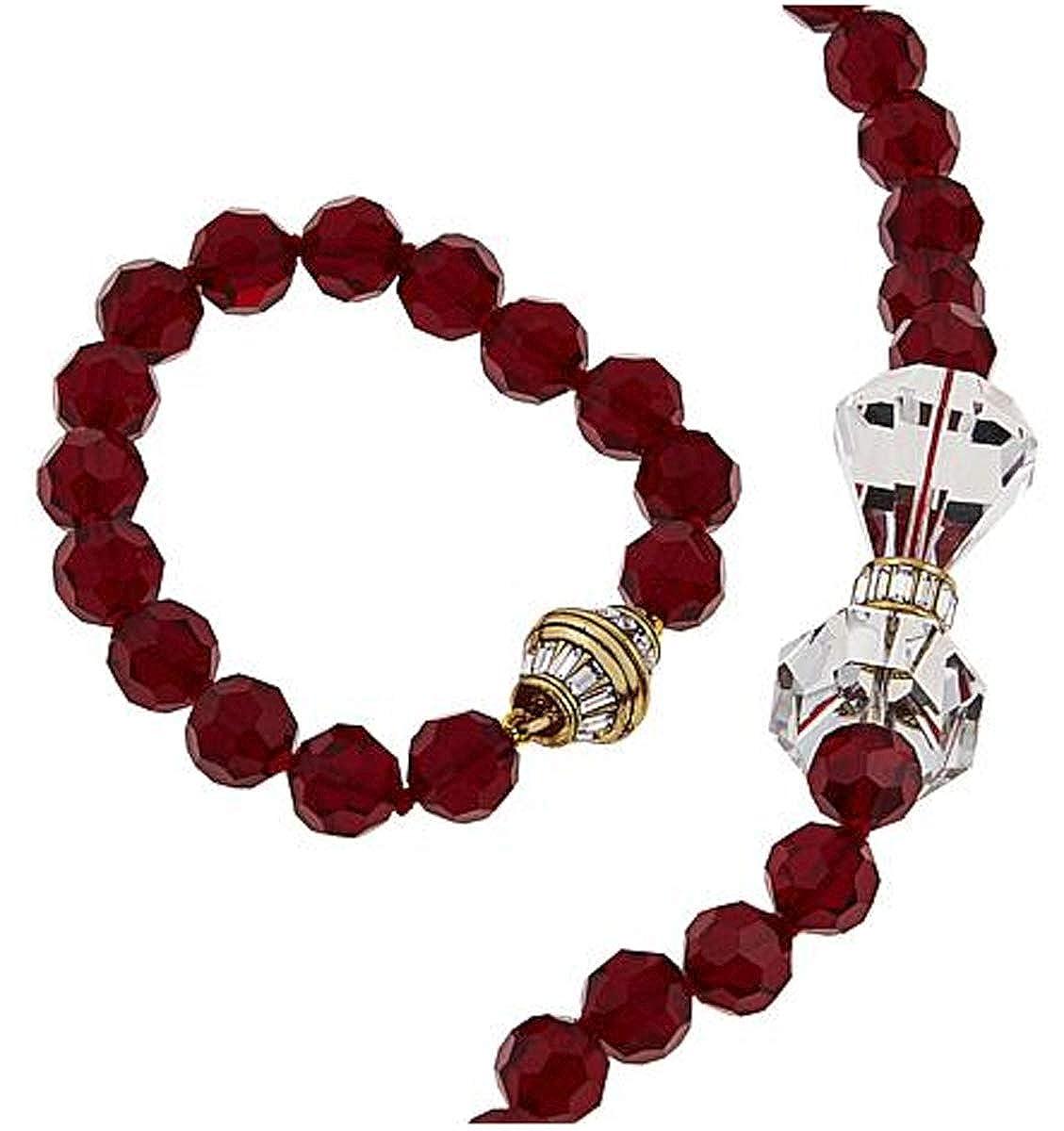 7ca6a39592751 Amazon.com: Heidi Daus Swarovski Crystal Convertible Necklace ...