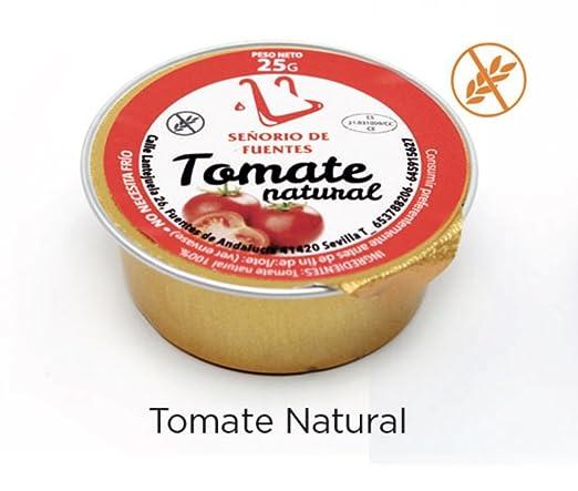 30 Monodosis de tomate natural de 25g + 30 monodosis de aceite de ...
