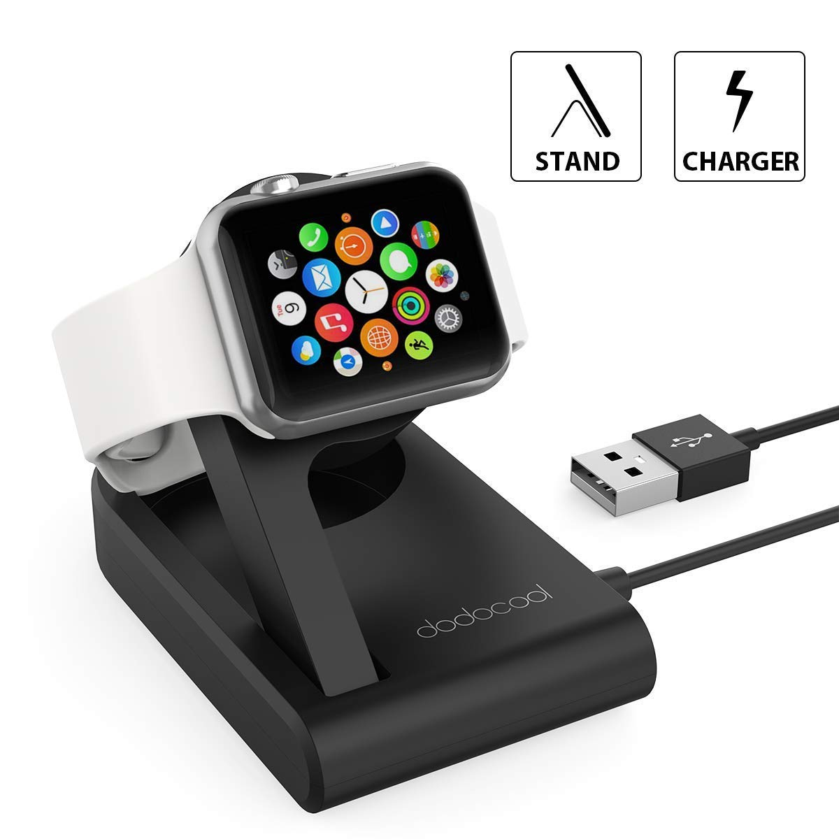 Caricatore Apple Watch certificato MFi dodocool