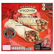 Santa Maria Mexican Preservative Free Plain Flour Tortillas (8 per pack) - Pack of 6