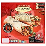 Santa Maria Mexican Preservative Free Plain Flour Tortillas (8 per pack) - Pack of 2