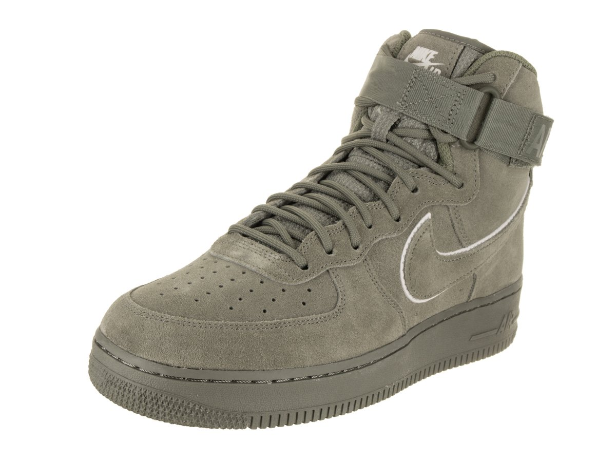 7dcf5ae003af Galleon - Nike Air Force 1 High  07 LV8 Suede Men s Shoes Olive White  Aa1118-002 (10.5 D(M) US)