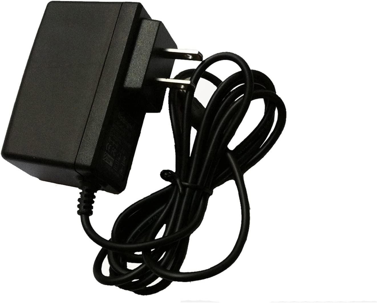 UpBright 7V-7.5V AC//DC Adapter Replacement for Sharp UADP-0312TAZZ UADP-0340TAZZ VL-10U VL-A10U VL-AH60U VL-AH130U Hi8 BT-H11 BT-H21 VR-33CH/Canon CA-PS700 ACK-DC50 G10 G11 G12 SX30 7VDC Power Charger