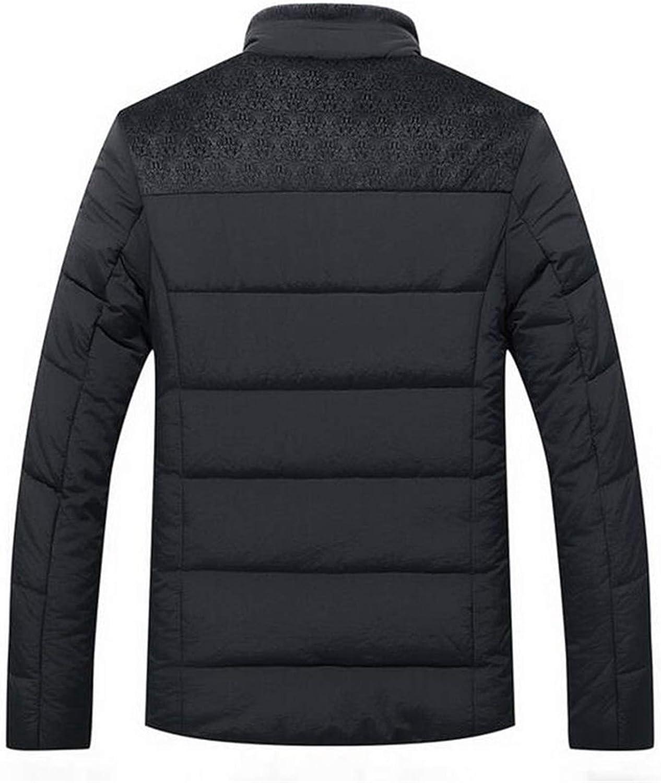 Cashmere Blouson Homme Business Coat Keep Warm Thick Splice Cotton Clothing
