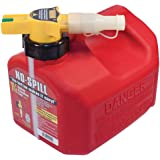 No-Spill 1415 1-1/4-Gallon Poly Gas Can (CARB Compliant)