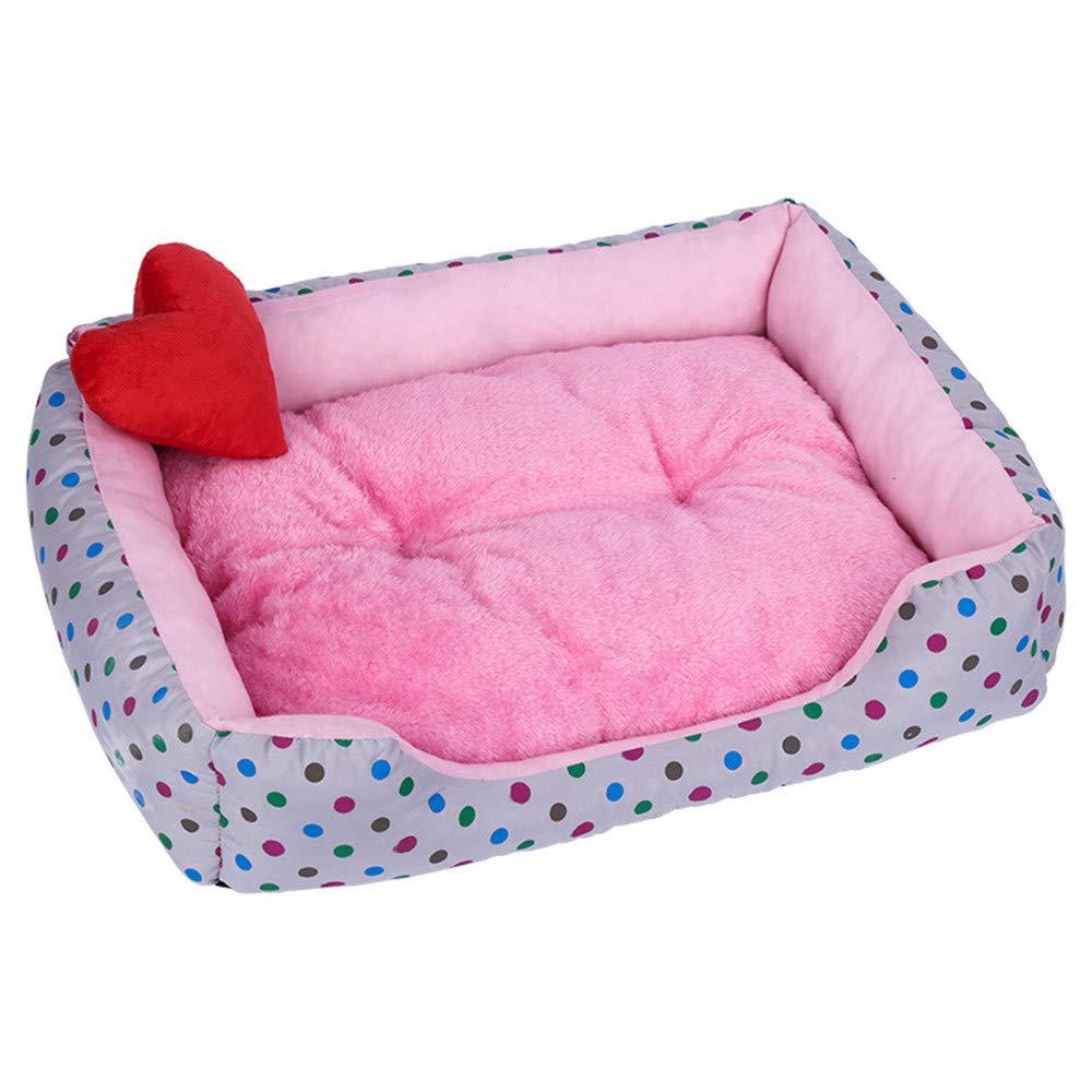 SamMoSon Pet Accessories, Soft Pet Dog Cat Bed Puppy Cushion House Pet Soft Warm Kennel Dog Mat Blanket by SamMoSon (Image #2)