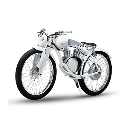 2a3fcbddcb6 SHI PAO Munro Electric Motorcycle, 2 Wheels Classical Style Retro Motorbike,  Removable 48V/500W/11.6Ah Lithium Battery Green Energy City/Beach Cruiser  ...