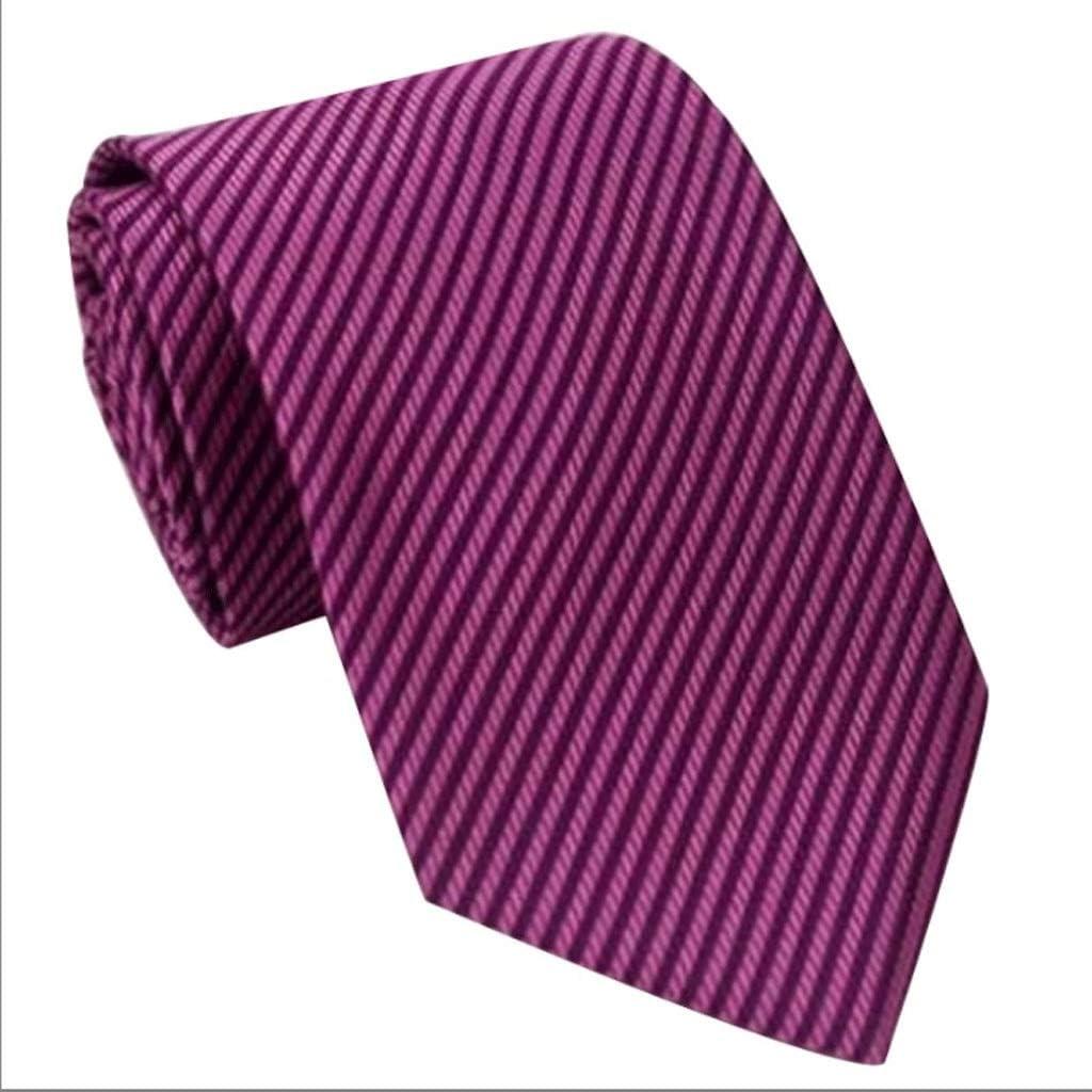 YXN Corbatas de Ocio/Etiqueta para la Empresa/Traje Formal de ...