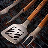 NCAA Tennessee Volunteers 3PC BBQ Set, Heavy Duty