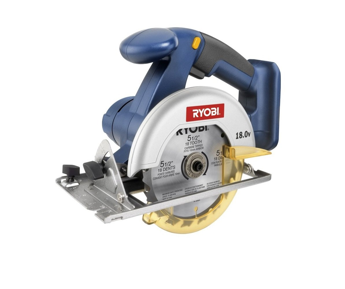 Ryobi p501 5 12 18v one circular saw bare tool only battery ryobi p501 5 12 18v one circular saw bare tool only battery and charger not included power circular saws amazon greentooth Image collections