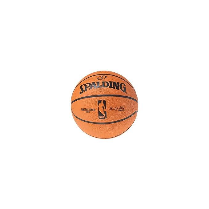 Spalding NBA Réplica gammball Balones Baloncesto, Arancio, 7 ...