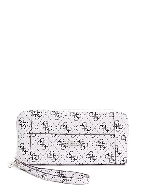 Guess Cartera Delaney Largo Zip Around 65 SWSQ4535460 Tiza CHL Billetera Damas: Amazon.es: Zapatos y complementos