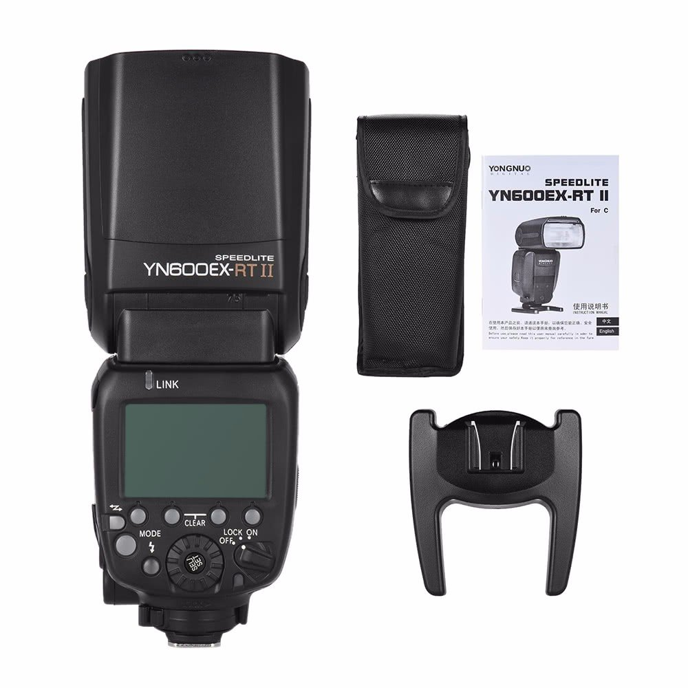YONGNUO Updated YN600EX-RT II Wireless Flash Speedlite with Optical Master and TTL HSS for Canon AS Canon 600EX-RT w/ EACHSHOT Diffuser by Yongnuo