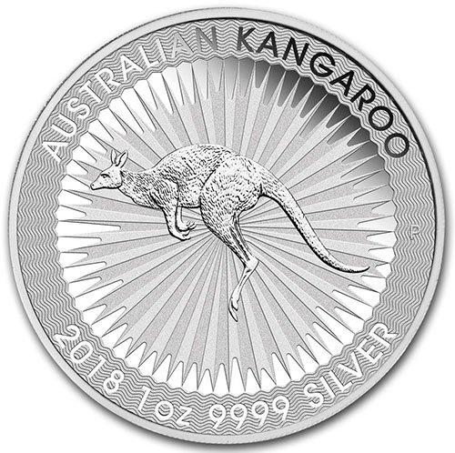 1 Oz Silver Bu Coin - 2018 P $1 Australia 1 oz Silver Kangaroo BU (Brilliant Uncirculated) Coin $1 Choice Uncirculated Perth Mint